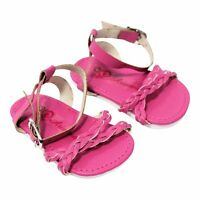 """Doll Clothes 18"""" Shoes Sandal Braided Pink Arianna Fits American Girl Doll"""
