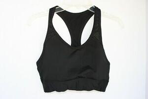 Victoria Secret PINK Ultimate Sport Bra Padded Black XS