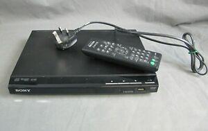 Sony DVD / CD Player Model DVP-SR760H with Remote DVPSR760H Black