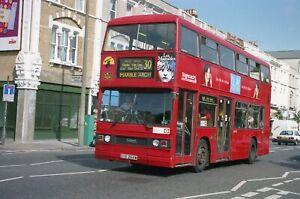 Original colour negative, London Transport, Leyland Titan, GYE264W, Sc E London