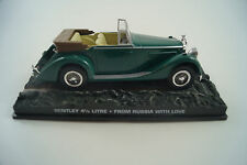 Modellauto 1:43 James Bond 007 Bentley 4 1/4 Litre *Liebesgrüße aus Moskau #64