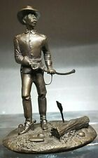 """The Franklin Mint Western Bronzes """"The Cavalry Officer"""" Limited Edition 1976"""