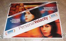 PERSONAL VELOCITY movie poster PARKER POSEY poster, KYRA SEDGEWICK, FAIRUZA BALK