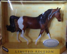 Breyer Horses Collectors Edition Very Rare Double Trouble Bay Paint Fox Trotter