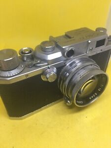 Canon rangefinder camera with 50mm f/1.9 Serenar lens