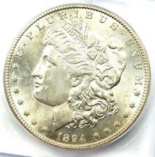 1894-S Morgan Silver Dollar $1 Coin - Certified ICG MS60 Details (BU UNC)!