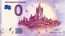 BILLET 0 ZERO EURO SCHEIN SOUVENIR REICHSBURG COCHEM 2017-1