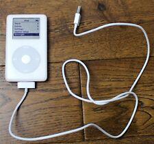 Apple iPod classic 4th Generation White (20GB) - Music - Player - Rare