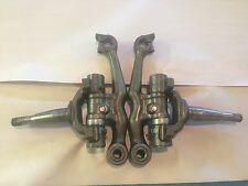 1956-62 CORVETTE FRONT SPINDLES w/ SUPPORTS (RESTORED)