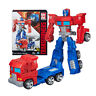 Transformers Generations Optimus Prime Cyber Battalion Robot Action Figures Toy