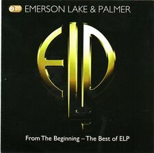 EMERSON,LAKE & PALMER .FROM THE BEGINING 2 X CD IN  SEALED SLIPCASE COVER