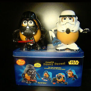 Star Wars Mr. Poato Head Darth Vader and Stormtooper Collector Set with Tin