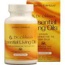 DR. OHHIRA'S ESSENTIAL LIVING OILS, 60 Vegan Capsules