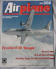 Airplane Issue 208 Ilyushin Il-28 'Beagle', Handley Page O/100 & O/400 cutaway