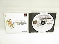 DRAGON KNIGHTS GLORIOUS PS1 Playstation PS Japan Game p1