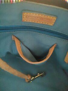 Dooney & Bourke Vintage Women's Signature Monogram  gray Handbag