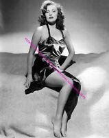 ACTRESS JOAN LESLIE BAREFOOT LEGGY 8 X 10 FEET TOES PHOTO A-JLES1
