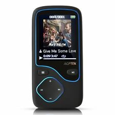 AGPtek 8gb Bluetooth mp3 Lettore musicale c05-8gb Sync per playlist con i media GO NUOVO