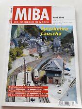 MIBA Magazin 6/1999 Spitzkehre Lauscha, H0-Schranke mit Kurbel und Glocke