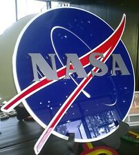NASA 3D SIGN art  UFO movie New series  security SPACE rocket mission science