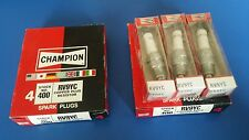 7 unopened Champion Spark Plugs, 400 RV9YC, Copper Plus Resistors
