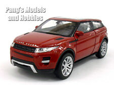Land Rover Evoque 1/32 - 1/39 Aprox. Scale Diecast Metal Car Model - RED