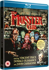 Blu Ray MONSTER CLUB. Vincent Price, John Carradine. New sealed.