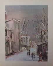 Reproduction Art Prints Maurice Utrillo