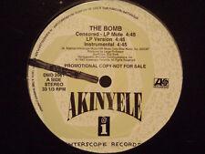 "AKINYELE + LARGE PROFESSOR - THE BOMB (12"")  1993!!!  RARE!!!"