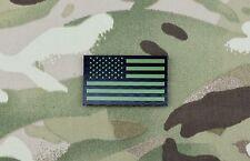 Mini-Small US IR Flag Patch Green & Black NSWDG CAG NSW DEVGRU SFOD-D Infrared