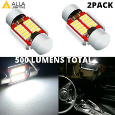 LED White Interior Dome Light Bulb for Toyota Tacoma Pick up Truck Subaru Scion
