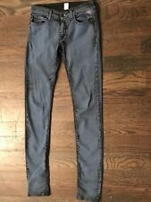 Replay Jeans skinny LUZ 26. Rare Find! Blue/Grey wash! Good condition!