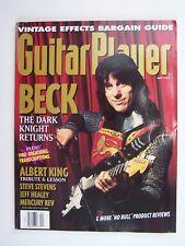 Guitar Player Magazine April 1993 Jeff Beck The Dark Knight Returns