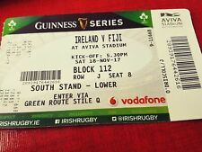 Ireland v 5 Matchday tickets !!   Argentina (2) Fiji and South Africa and Italy