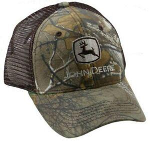 NEW John Deere Realtree Camo Mesh Structured Cap Low Profile  LP67289