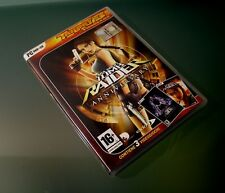 LARA CROFT Tomb Raider Anniversary Trilogy 3 Videogame PC DVD+CD - 4 discs