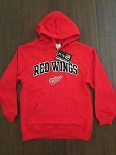 Detroit Red Wings YOUTH Large Sweatshirt . Hoodie NEW NHL Datsyuk Zetterberg