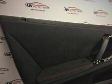 Nissan Skyline R35 GTR - Retrimming service front doorcards leather or Alcantara