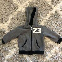 Jordan Baby Boys Sweater Size 12M Gray