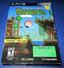 Terraria -- Collector's Edition Sony PlayStation 3 *New (box has some wear)