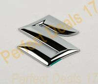 Suzuki Swift Vitara APV 2005 - SX4 S Cross FRONT Grill Badge Emblem Chrome Logo