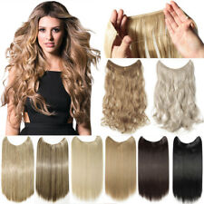 Headband Secret Wire In Hair Extensions Invisible Brown Real Soft Natural Hair F