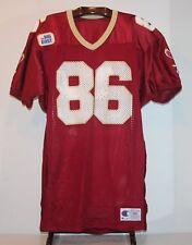 CHAMPION GAME WORN 1992 BOSTON COLLEGE EAGLES FOOTBALL JERSEY #86