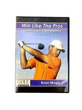 Golf Magazine Win Like the Pros Volume 1: 5 Keys to Peak Performance Brain Mogg