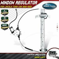 Power Window Regulator with Motor for Lincoln Town Car 1990-1993 Rear LH Driver