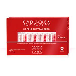 LABO Cadu-Crex PLC7 Pilum-Stem Renforcé Cheveux Chute Abondant Homme 20 Flacons