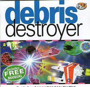 DEBRIS DESTROYER | Retro Game | Win 95 98 XP ( 7 8 10 see listing )