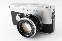 🌟 N-Mint🌟 Olympus Pen F 35mm Half Frame Film Camera + Zuiko 40mm F/1.4 f Japan