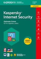 Kaspersky Internet Security Multy 2018 *3 PC / 1 Jahr Vollversion Lizenz Upgrade
