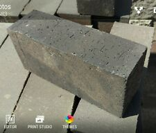 """6 NEW FULL SIZE WOOD OVEN FIRE BRICK CLAY REFRACTORY BRICK STRAIGHT 9""""X4.5""""X2.5"""""""